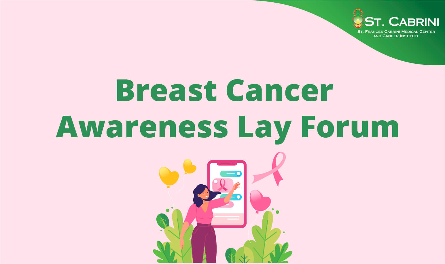 Breast Cancer Awareness Lay Forum